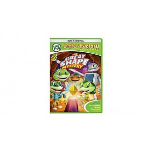 Letter Factory Adventures™: The Great Shape Mystery  DVD + Digital Ages 3-6 yrs. Clearance Sale
