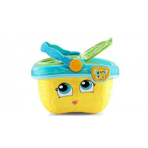Shapes & Sharing Picnic Basket™ (Yellow) Ages 6-36 months Clearance Sale