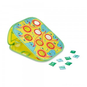 Melissa & Doug Sunny Patch Camo Chameleon Bean Bag Toss Action Game Clearance Sale