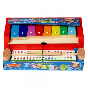 Melissa & Doug Learn-to-Play Xylophone Clearance Sale