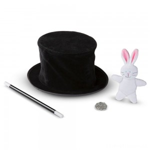 Melissa & Doug Magic in a Snap - Magician's Pop-Up Magical Hat with Tricks Clearance Sale