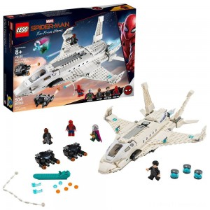 LEGO Super Heroes Marvel Spider-Man Stark Jet and the Drone Attack 76130 Clearance Sale