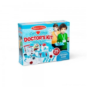 Melissa & Doug Get Well Doctor's Kit Play Set Clearance Sale
