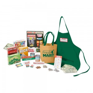 Melissa & Doug Fresh Mart Grocery Store Companion Collection Clearance Sale