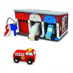 Melissa & Doug Keys & Cars Rescue Garage Clearance Sale