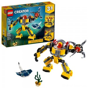 LEGO Creator Underwater Robot 31090 Clearance Sale