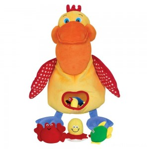 Melissa & Doug K's Kids Hungry Pelican Soft Baby Educational Toy Clearance Sale