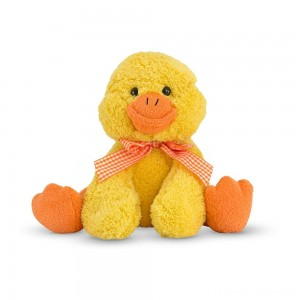 Melissa & Doug Meadow Medley Ducky Stuffed Animal With Quacking Sound Effect Clearance Sale