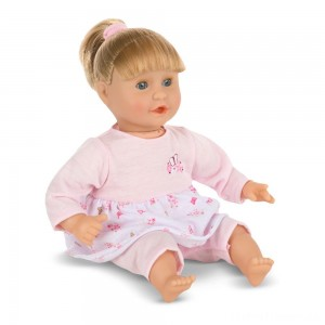 Melissa & Doug Mine to Love Natalie 12-Inch Soft Body Baby Doll With Hair and Outfit Clearance Sale