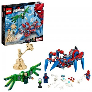 LEGO Super Heroes Marvel Spider-Man's Spider Crawler 76114 Clearance Sale