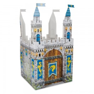 Melissa & Doug Medieval Castle Indoor Playhouse Clearance Sale