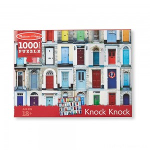 Melissa And Doug Knock Knock Doorways Puzzle 1000pc Clearance Sale