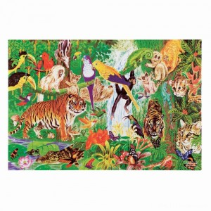 Melissa And Doug Rainforest Floor Puzzle 48pc Clearance Sale