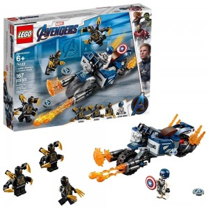 LEGO Super Heroes Marvel Avengers Movie 4 Captain America: Outriders Attack 76123 Clearance Sale