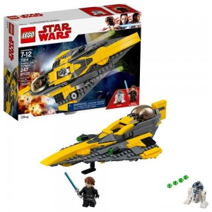 LEGO Star Wars Anakin's Jedi Starfighter 75214 Clearance Sale