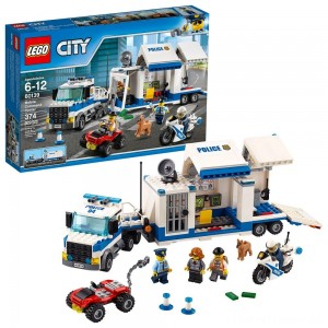 LEGO City Police Mobile Command Center 60139 Clearance Sale