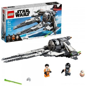 LEGO Star Wars Black Ace TIE Interceptor 75242 Clearance Sale