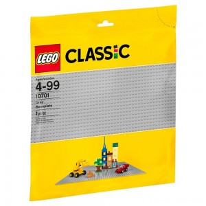 LEGO Classic Gray Baseplate 10701 Clearance Sale