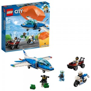 LEGO City Sky Police Parachute Arrest 60208 Clearance Sale