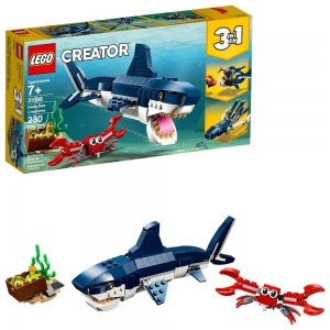LEGO Creator Deep Sea Creatures Building Kit Sea Animal Toys for Kids 31088 Clearance Sale