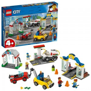 LEGO City Garage Center 60232 Building Kit for Kids 4+ with Toy Vehicle 234pc Clearance Sale