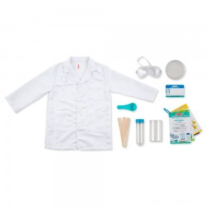 Melissa & Doug Scientist Role Play Clearance Sale