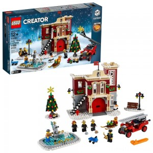 LEGO Creator Winter Village Fire Station 10263 Clearance Sale