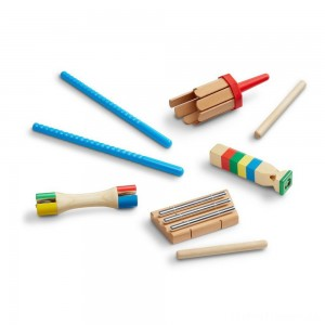 Melissa & Doug Band-in-a-Box Chime! Whistle! Jingle! Clearance Sale