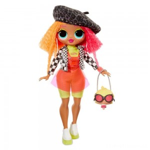 L.O.L. Surprise! O.M.G. Neonlicious Fashion Doll with 20 Surprises Clearance Sale