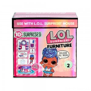 L.O.L. Surprise! Furniture Backstage with Independent Queen & 10+ Surprises Clearance Sale