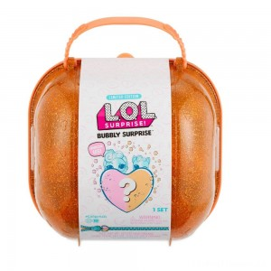 L.O.L. Surprise! Bubbly Surprise with Exclusive Doll and Pet - Orange Clearance Sale
