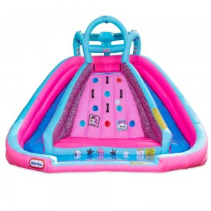 L.O.L. Surprise! Inflatable River Race Water Slide with Blower, Kids Unisex Clearance Sale