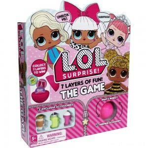 L.O.L. Surprise! 7 Layers of Fun Game, Kids Unisex Clearance Sale