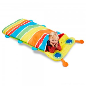 Melissa & Doug Sunny Patch Giddy Buggy Sleeping Bag With Matching Storage Bag Clearance Sale