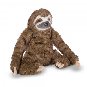 Melissa & Doug Stuffed Animal Sloth Clearance Sale