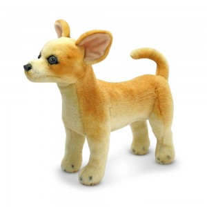 Melissa & Doug Chihuahua Dog - Lifelike Stuffed Animal Clearance Sale