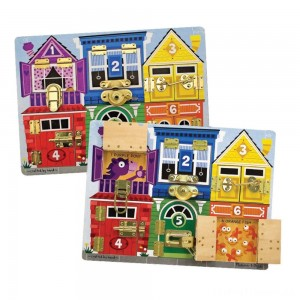 Melissa & Doug Latches Wooden Activity Board Clearance Sale
