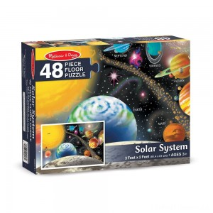 Melissa And Doug Solar System Floor Puzzle 48pc Clearance Sale