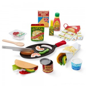 Melissa & Doug Taco and Tortilla Set 44pc Clearance Sale