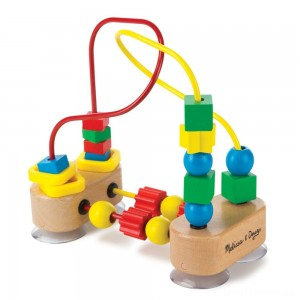 Melissa & Doug First Bead Maze - Wooden Educational Toy Clearance Sale