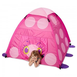 Melissa & Doug Sunny Patch Trixie Ladybug Camping Tent Clearance Sale