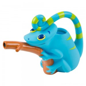 Melissa & Doug Sunny Patch Camo Chameleon Watering Can With Tail Handle and Branch-Shaped Spout Clearance Sale