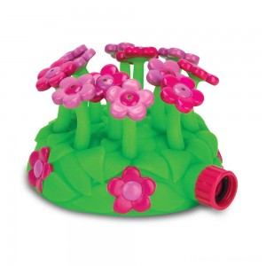 Melissa & Doug Sunny Patch Blossom Bright Sprinkler Toy With Hose Attachment, Kids Unisex Clearance Sale