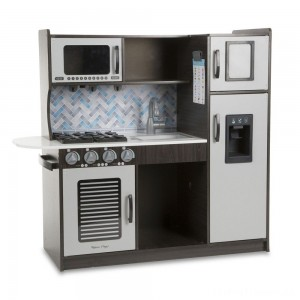Melissa & Doug Chef's Kitchen Pretend Play Set - Charcoal Clearance Sale