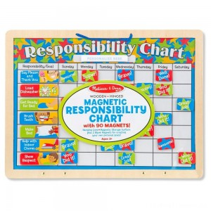 Melissa & Doug Magnetic Responsibility Chart Clearance Sale