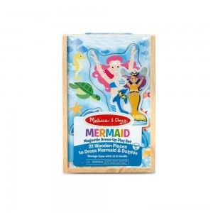 Melissa & Doug Mermaid Magnetic Dress-up Clearance Sale