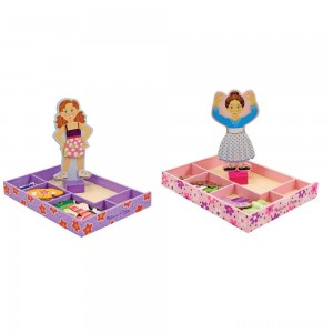 Melissa & Doug Magnetic Dress Up Sets Clearance Sale