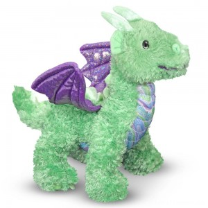 Melissa & Doug Zephyr Dragon Stuffed Animal Clearance Sale