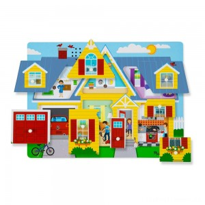 Melissa & Doug Around the House Sound Puzzle Set - 8pc Clearance Sale