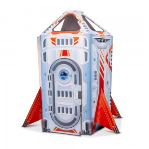 Melissa & Doug Rocket Ship Indoor Corrugate Playhouse Clearance Sale